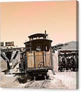 Last Train Home Canvas Print