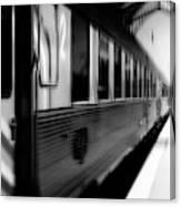 Last Train Leaving Paris Canvas Print