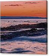 Last Waves Canvas Print