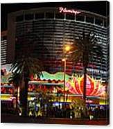 Las Vegas - The Flamingo Panoramic Canvas Print