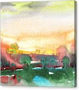 Late Afternoon 59 Canvas Print