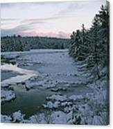 Late Afternoon In Winter Canvas Print