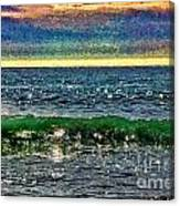 Late Afternoon Ocean Canvas Print