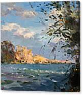 Late Afternoon On Goat Island Canvas Print