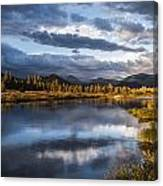 Late Afternoon On The Tuolumne River Canvas Print