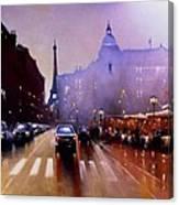 Late Afternoon Paris Canvas Print