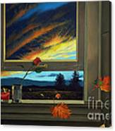 Late Autumn Breeze By Christopher Shellhammer Canvas Print