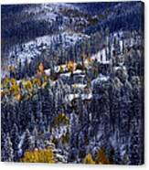 Late Fall In Vail Canvas Print