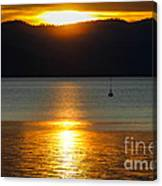 Late Summer Sunset Canvas Print