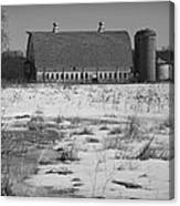 Late Winter At A Wisconsin Farm Canvas Print