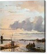 Late Winter In Holland Canvas Print
