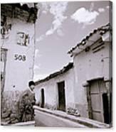 The Alleys Of Cuzco Canvas Print