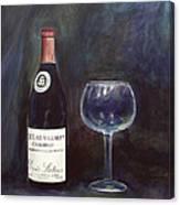 Latour Wine Buon Fresco 3 Primary Pigments Canvas Print