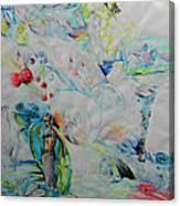 Latoya Tutti Frutti Canvas Print