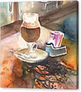 Latte Macchiato In Italy 02 Canvas Print