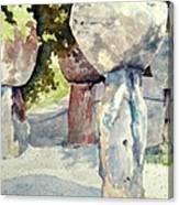 Latte Stone Canvas Print