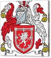 Lauder Coat Of Arms Irish Canvas Print