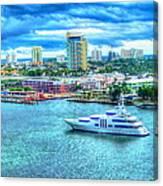 Lauderdale Canvas Print