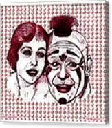 Laugh Clown Laugh Canvas Print