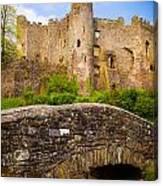 Laugharne Castle Canvas Print
