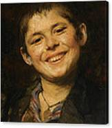 Laughing Boy Canvas Print