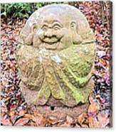 Laughing Forest Buddha Canvas Print