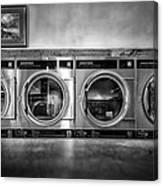 Laundromat Art Canvas Print
