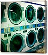 Laundromat Canvas Print