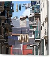 Laundry Ix Color Venice Italy Canvas Print