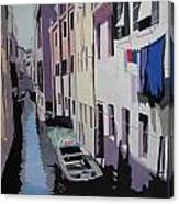 Laundry Canvas Print