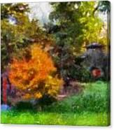 Laura Bradley Park Japanese Garden 02 Canvas Print