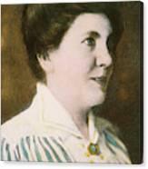 Laura Ingalls Wilder (1867-1957) Canvas Print