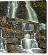 Laurel Falls Cascades Canvas Print