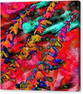 Laurel Fence 2 Canvas Print