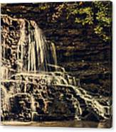 Laurel Run Falls Canvas Print