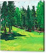 Laurelhurst Park Canvas Print