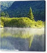 Laurentian Summer Morning Canvas Print