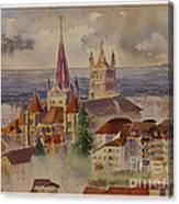Lausanne Canvas Print