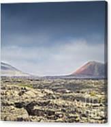 Lava Flows Lanzarote Canvas Print