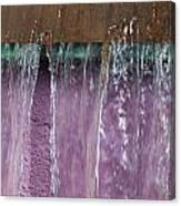 Lavendar Falls Canvas Print