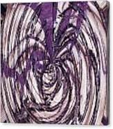 Lavender Bead Art Canvas Print