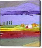 Lavender Hills Canvas Print