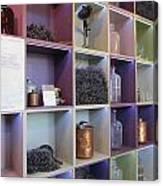 Lavender Museum Shop Canvas Print