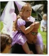Lavender Princess Canvas Print