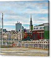 Law Courts Newcastle Upon Tyne Canvas Print
