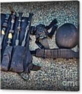 Law Enforcement -swat Gear - Entry Tools Canvas Print