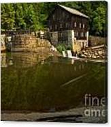 Lawrence County Grist Mill Canvas Print