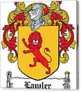 Lawler Coat Of Arms Irish Canvas Print