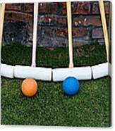 Lawn Games Canvas Print