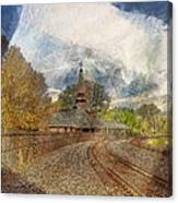 Lawrence Union Pacific Depot Canvas Print
